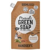 Marcel's Green Soap Handseife Sandelwood & Cardamom - Sandelholz & Cardamom 1L
