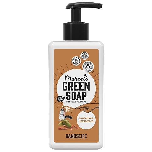 Marcel's Green Soap Handseife Sandelwood & Cardamom - Sandelholz & Cardamom