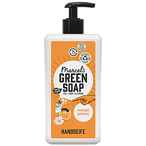 Marcel's Green Soap Handseife Orange & Jasmine - 500 ml
