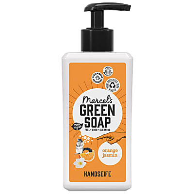 Marcel's Green Soap Handseife Orange & Jasmine - Orange & Jasmin