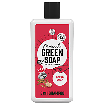 Marcel's Green Soap 2in1 Shampoo Argan & Oudh