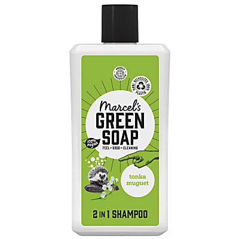 Marcel's Green Soap 2in1 Shampoo Tonka & Maiglöckchen