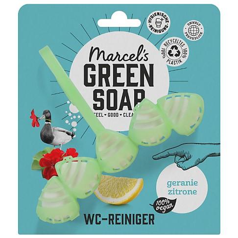 Marcel's Green Soap Toilet Block Geranium & Lemon - Toiletten Spülstein
