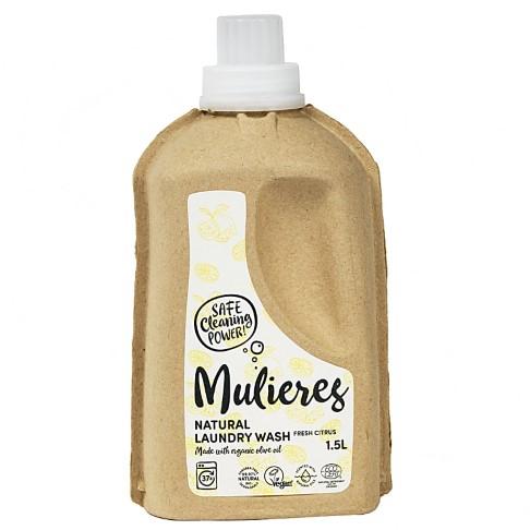 Mulieres Natural Laundry Wash - Fresh Citrus  Flüssigwaschmittel 1.5L