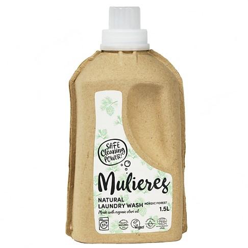 Mulieres Natural Laundry Wash - Nordic Pine Flüssigwaschmittel 1.5L