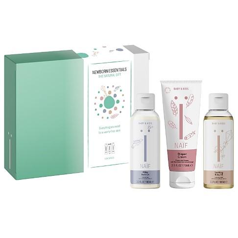 NAÏF Newborn Essentials - Geschenkset für Neugeborene