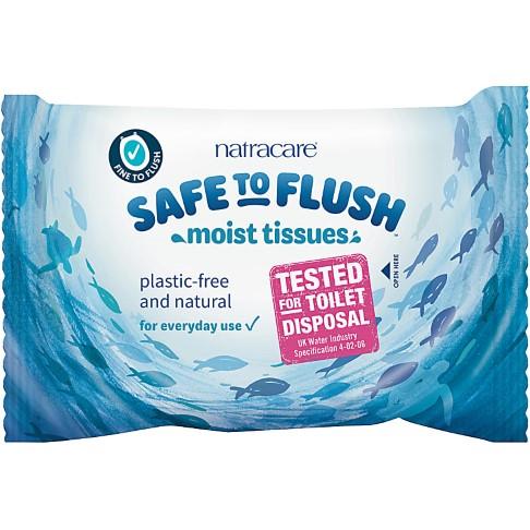 Natracare Safe to Flush Moist Tissues - Feuchttücher