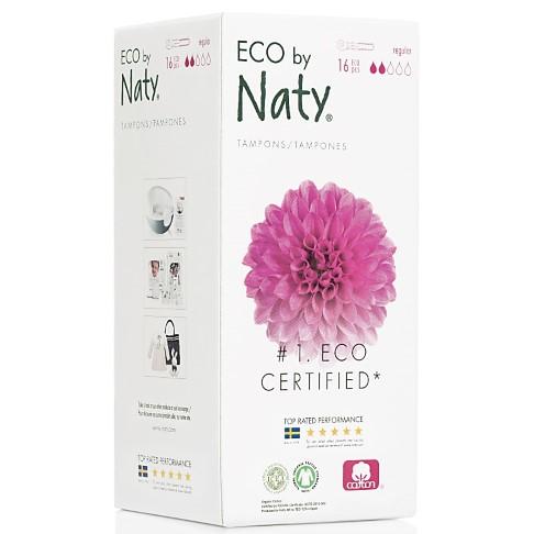 Eco by Naty Regular Tampons mit Applikator