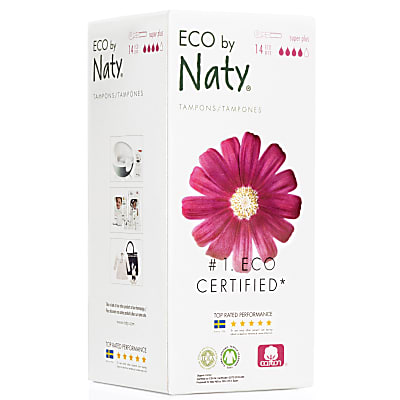 Eco by Naty Super Plus Tampons mit Applikator