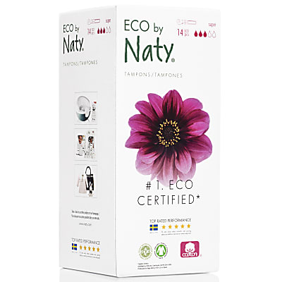 Eco by Naty Super Tampons mit Applikator