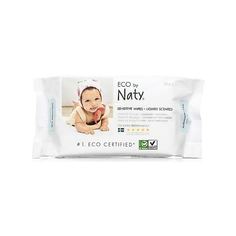 Naty by Nature Babycare ECO Sensitive Baby Pflegetücher - Leicht beduftet