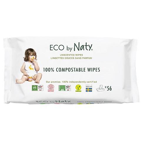 Eco by Naty Babycare Pflegetücher - ohne Duftstoffe