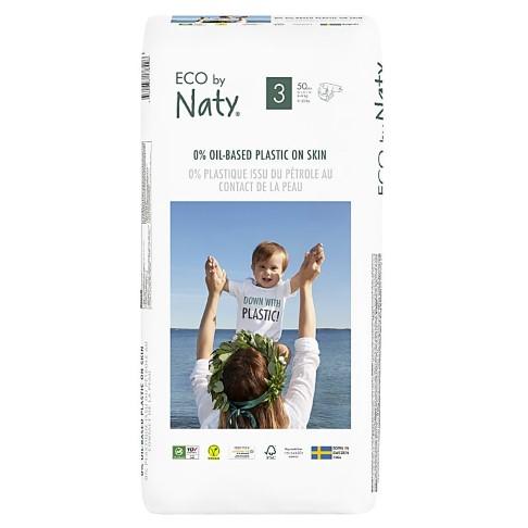 Naty by Nature Babypflege Windeln: Größe 3 - Vorteilspack