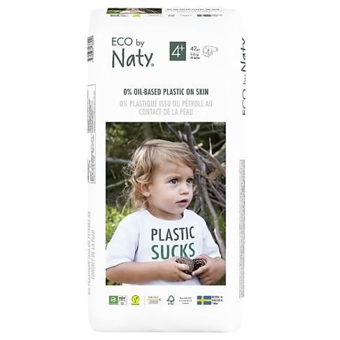 Naty by Nature Babypflege Windeln: Größe 4+ - Vorteilspack