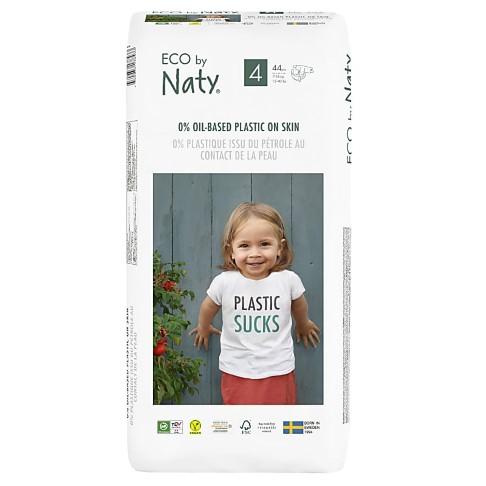Naty by Nature Babypflege Windeln: Größe 4 - Vorteilspack