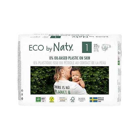 Naty by Nature Babypflege Windeln: Größe 1 Neugeborene