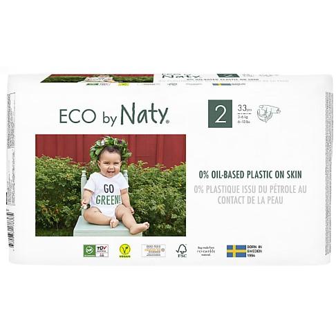Eco by Naty Babypflege Windeln: Größe 2