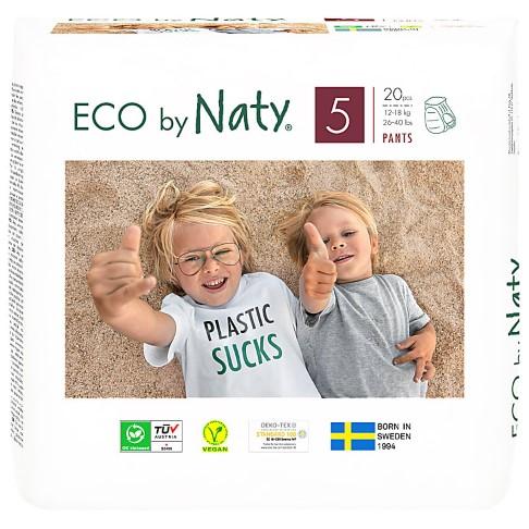 Eco by Naty Babypflege Höschenwindeln: Größe 5 Junior
