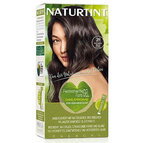 Naturtint Permanent Natürliche Haarfarbe - 3N Dark Chestnut Brown - dunkle Kastanie
