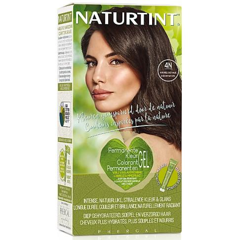Naturtint Permanent Natürliche Haarfarbe - 4N Natural Chestnut - natürliche Kastanie