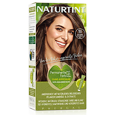 Naturtint Permanent Natürliche Haarfarbe - 5G Light Golden Chestnut