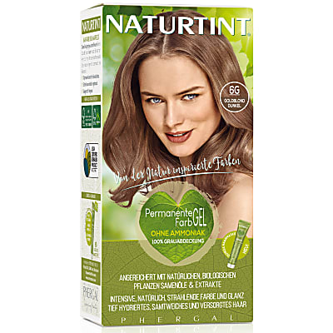 Naturtint Permanent Natürliche Haarfarbe - 6G Dark Golden Blonde - goldblond