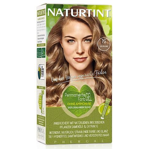 Naturtint Permanent Natürliche Haarfarbe - 7G Golden Blonde - goldblond