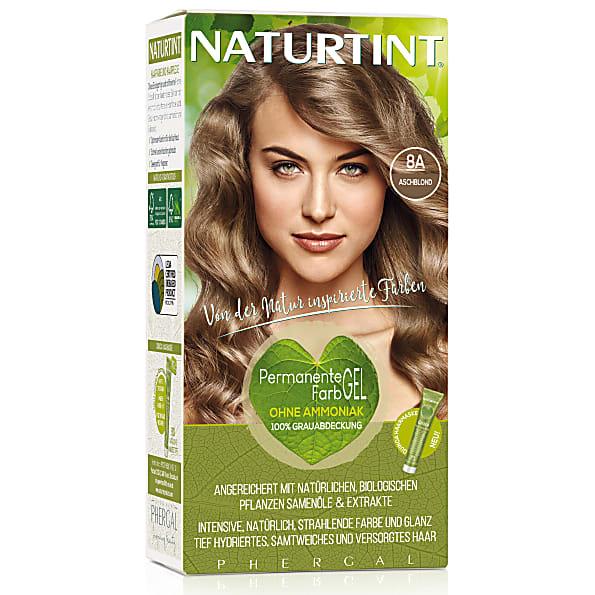 Naturtint Permanent Natürliche Haarfarbe 8a Ash Blonde Aschblond