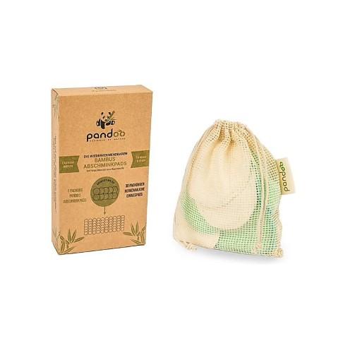 Pandoo waschbare Abschminkpads aus Bambus & Baumwolle