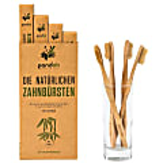 Pandoo Bambus Zahnbürste 4-er Pack