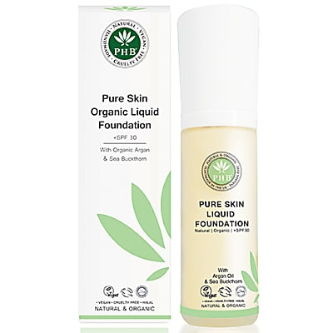 PHB Ethical Beauty Organic Liquid Foundation: Cream - Make-up Grundierung