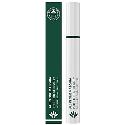 PHB Ethical Beauty All-in-One Natural Mascara: Black - Schwarz