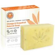 PHB Ethical Beauty Orange & Grapefruit Natural Soap - Seife