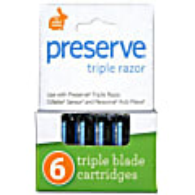 Preserve Triple Ersatzklingen (4 Klingen)
