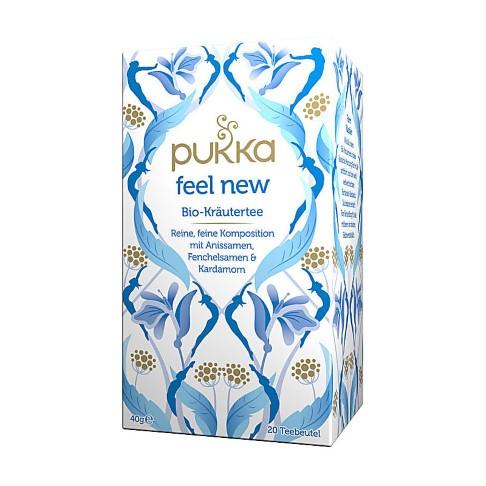 Pukka feel new Tee (20 Beutel)