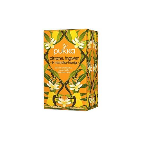 Pukka Zitrone, Ingwer & Manuka Honig (20 Beutel)
