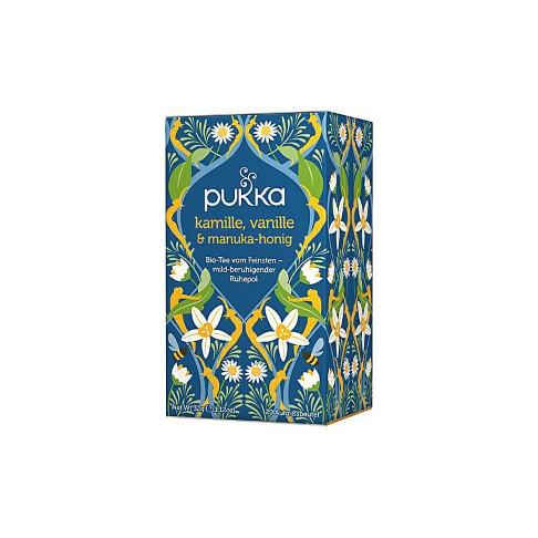 Pukka Kamille, Vanille & Manuka Honig Tee (20 Beutel)