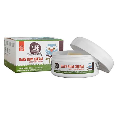 Pure Beginnings Baby Bum Cream Organic Baobab - Windelcreme