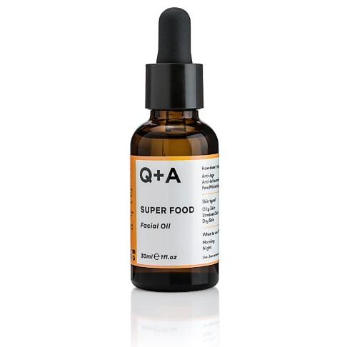 Q+A Super Food Facial Oil - Gesichtsöl