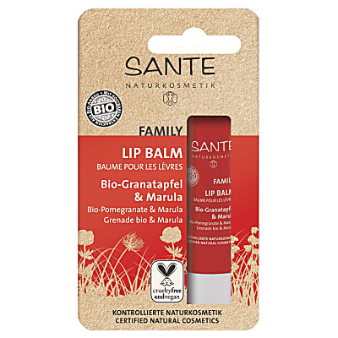 Sante Family Lip Balm - Bio-Granatapfel & Marula