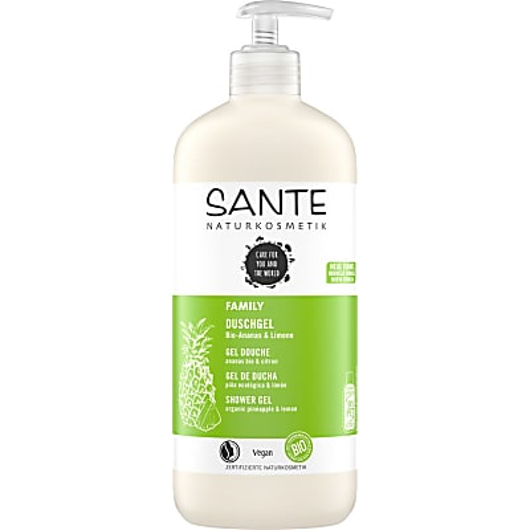 Sante Family Duschgel Bio-Pineapple & Lemon 500ml