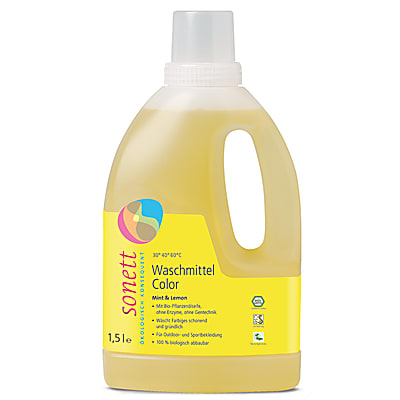 Sonett Waschmittel Color - Mint & Lemon 1.5 L