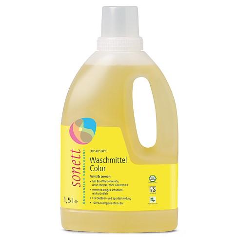 Sonett Waschmittel Color - Mint & Lemon 1.5 L