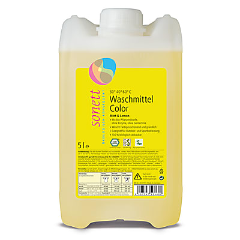 Sonett Waschmittel Color - Mint & Lemon 5L
