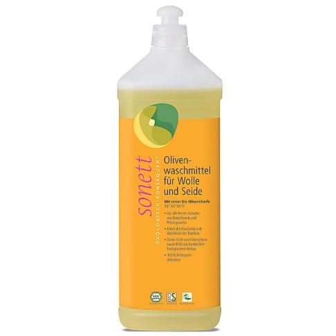 Sonett Oliven Waschmittel für Wolle & Seide - 1L