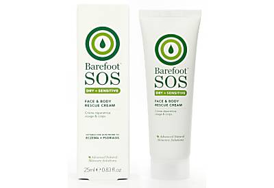 Barefoot SOS Dry + Sensitive Face & Body Rettungscreme