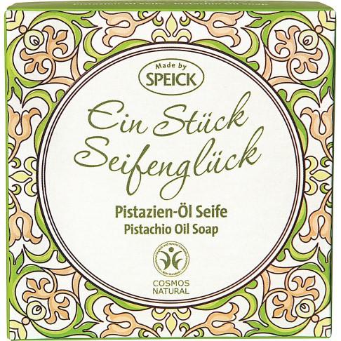 Speick Ein Stück Seifenglück  - Pistazien-Öl Seife