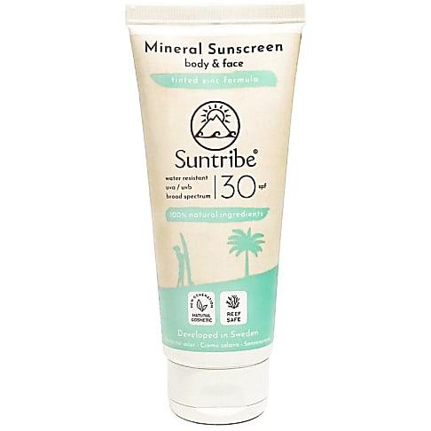 Suntribe  Body LSF 30 (wasserfest) 100ml - Mineralischer Sonnenschutz