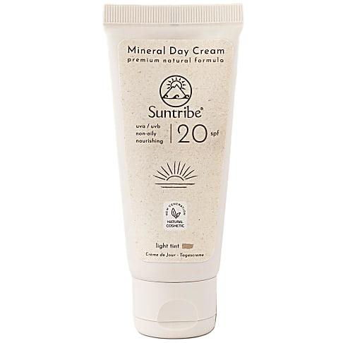 Suntribe Organic Day Cream - Vegane Tagescreme LSF 20