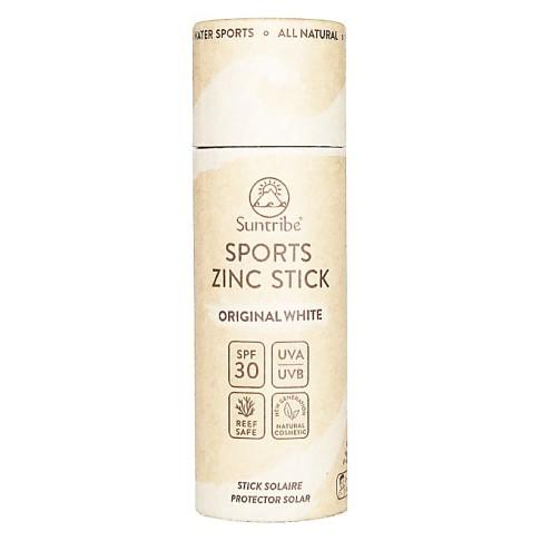 Suntribe Sport Zinc Stick LSF 30 Original White - Sonnenschutz Stick im Karton